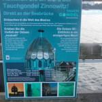 Tauchglocke im Ostseebad Zinnowitz